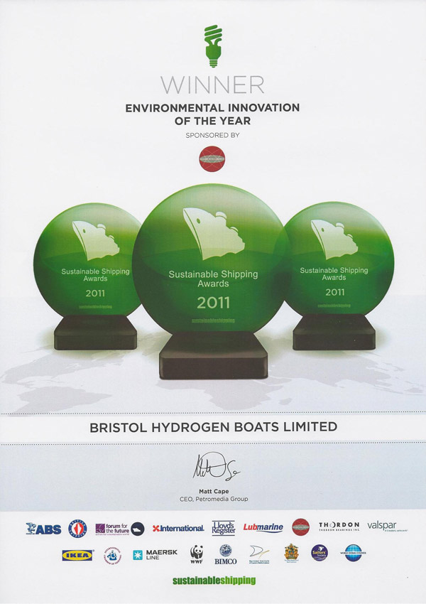 Sustainable Shipping Award